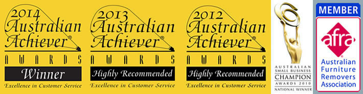 Melbourne Removalist Service Awards